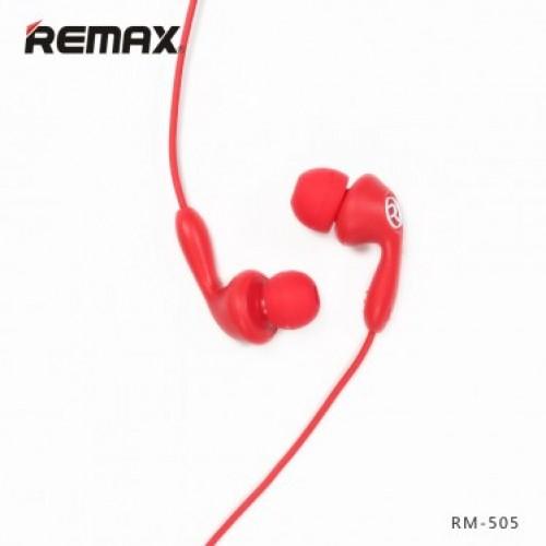 Наушники Remax RM-505 Candy (red) проводные