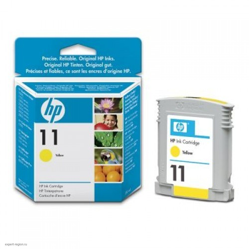 Картридж C4838AE (№11) HP Color LJ 1100/2600/2200/2300/9110/9120/9130 Yellow (28ml)