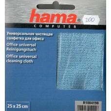 Чистящие салфетки Hama влажные для офиса 14x20см в деспенсере 100шт (H-R1084185)