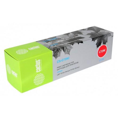 Картридж Canon i-SENSYS LBP7010C/LBP7018C (Cactus Cartridge 729M) 1000 стр. Magenta