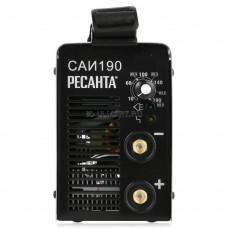 Сварочный аппарат инвенторный Ресанта САИ 190