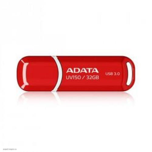 Накопитель USB 3.0 Flash Drive 64Gb A-Data DashDrive UV150, Красный (AUV150-64G-RRD)