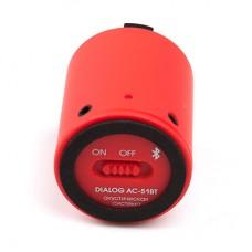 Мобильная акустическая система Dialog Blues AC-51BT (red)