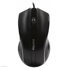 Манипулятор Smartbuy 338 One black, 1000dpi, 3but USB