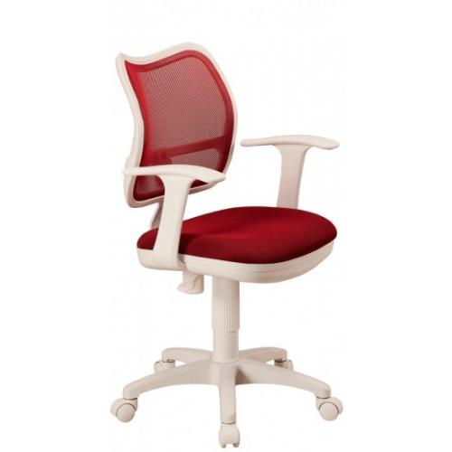 Кресло Бюрократ CH-W797/R/TW-97N спинка красный сетка TW-35N сиденье красный TW-97N