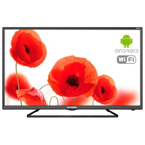 "Телевизор 32"" (81 см) Telefunken TF-LED32S52T2 Black LED"