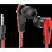 Наушники DEFENDER Trendy-704 1.1 м (красные/черные)