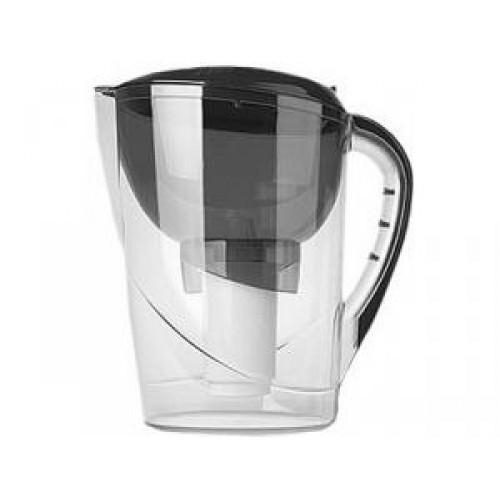Фильтр-кувшин ГЕЙЗЕР АКВАРИУС 62026 (емкость резервуара 1,4/3 л., очистка жесткой воды) графит