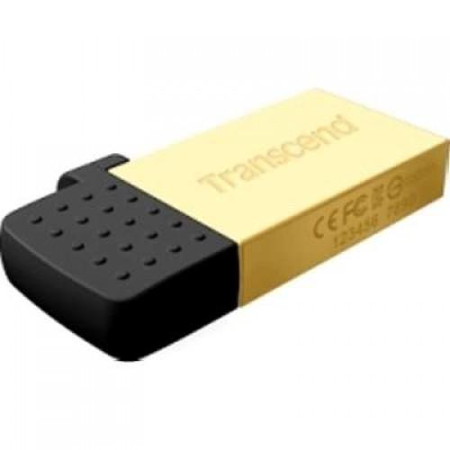 Накопитель USB 2.0 Flash Drive 16GB Transcend 380G, золотистый (TS16GJF380G)
