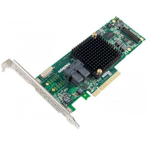 Контроллер Adaptec ASR-8805 (PCI-E v3 x8/LP/SGL SAS 12G/RAID 0,1,10,5,6,50/8port