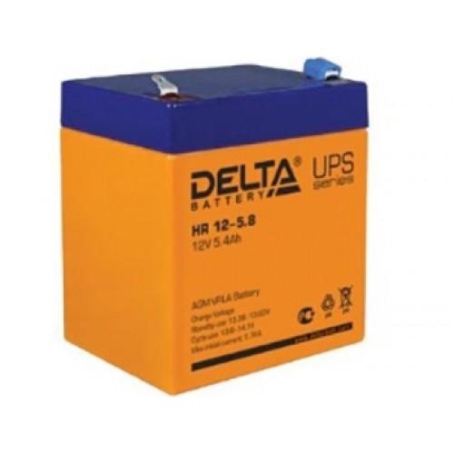 Аккумулятор DELTA HR 12-5.8 12V 5.8Ah (90x70x107мм/1.95кг)