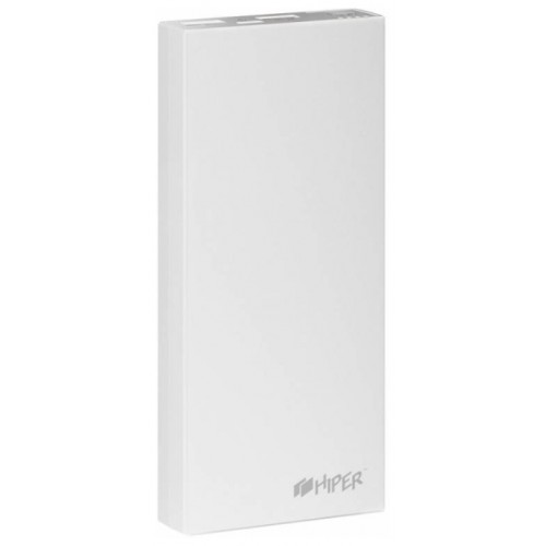Портативный аккумулятор HIPER Power Bank RP15000, 15000mAh, White