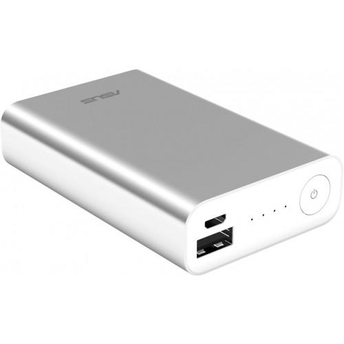 Портативный аккумулятор ASUS ZenPower ABTU005 10050mAh 2.4A Li-Ion, серебристый (90AC00P0-BBT027)