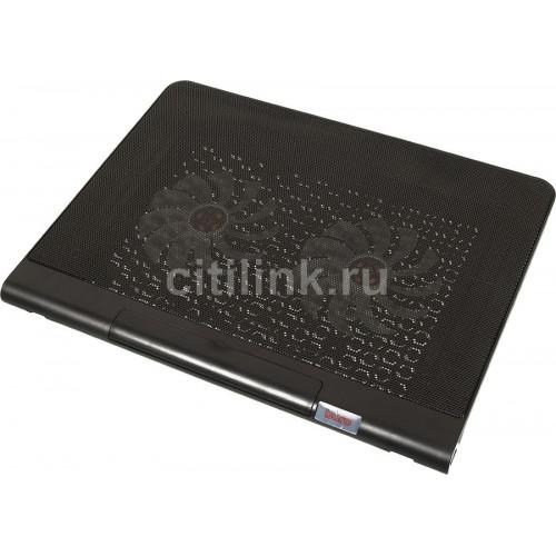 """Охлаждающая подставка для ноутбука Buro BU-LCP170-B214 black 17"""" (BU-LCP170-B214)"""