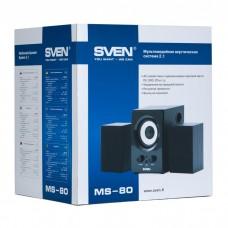 Акустическая система 2.1 SVEN MS-80 black (SV-013080BK)