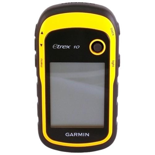 Навигатор автомобильный GPS Garmin eTrex 10, Глонасс Rus (туристический)