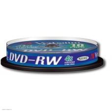 Диск DVD-RW Verbatim  4,7Gb 4x, 25шт., Cake Box (43639)