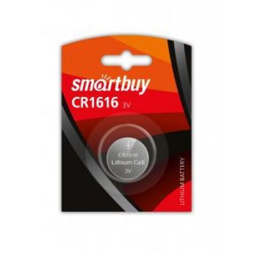 Батарейки литиевые Smartbuy CR1616/1B (SBBL-1616-1B)