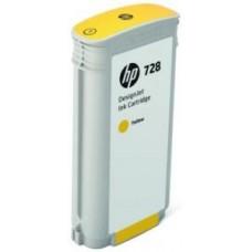 Картридж F9J65A (№728) HP DesignJet T730/T830 Yellow 130мл