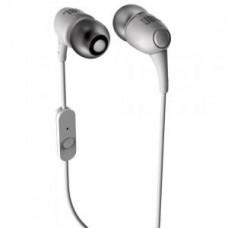 Наушники с микрофоном JBL T100 white (20 - 22000 Гц, 16 Ом, jack 3.5, вставные (
