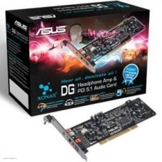 Звуковая карта Asus PCI Xonar DG (C-Media CMI8786) 5.1 (2.0 digital S/PDIF out) RTL