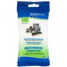 Чистящие салфетки Defender универсальные CLN30200 в мягкой упаковке