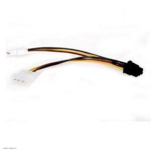 Адаптер питания для видеокарт 2x4-pin ATX -> 6-pin (CC-PSU-6)