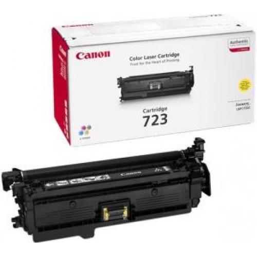 Картридж Canon LBP-7750Cdn (Cartridge 723Y) 8500 стр. Yellow (2641B002)