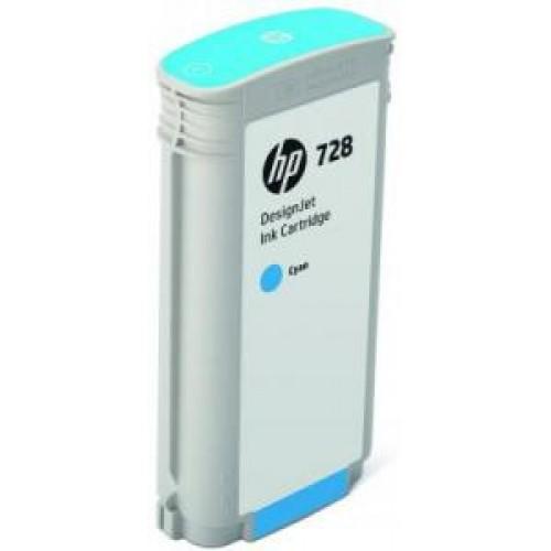 Картридж F9J67A (№728) HP DesignJet T730/T830 Cyan 130мл