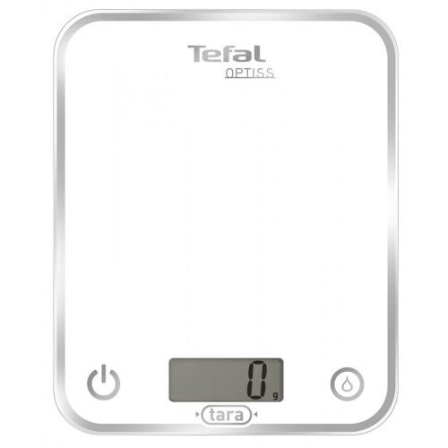 Весы кухонные Tefal BC5000V1 white (5кг/стекло)