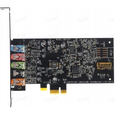Звуковая карта Creative Sound Blaster Audigy FX 5.1, PCI-E, Retail (SB1570)