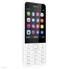 Мобильный телефон Nokia 230 Dual Sim white 2.8
