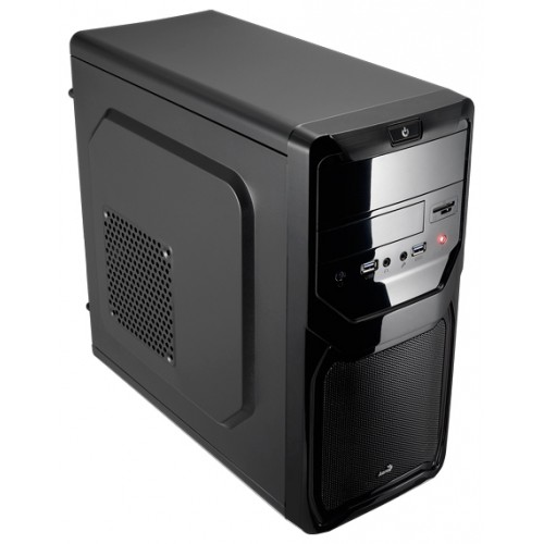 Корпус Mini-Tower AeroCool Qs-183 Advance black