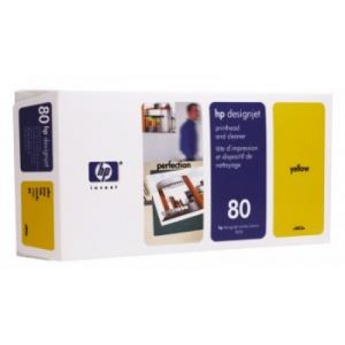 Головка C4823A (№80) HP DesignJet 1050/55 Yellow