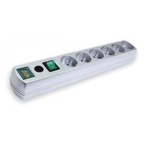Фильтр сетевой Most R 10м (6 розеток) белый (коробка)