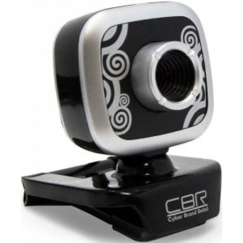 Web-камера CBR CW-835M Silver, универс. крепление, 4 линзы, микрофон