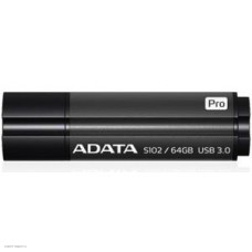 Накопитель USB 3.0 Flash Drive 64Gb A-DATA S102 Pro Superior, серый