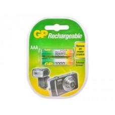 Аккумулятор GP AAA (1000 mAh) Ni-Mh BL-2 (100AAAHC-2CR2)
