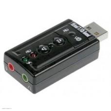 Звуковая карта C-Media CM108 TRUA71 2.0-ch, 7.1-ch virtual, USB