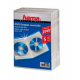 Коробка для 2 DVD, 5 шт., пластик прозрачный/черный, Hama H-83894 Jewel Case