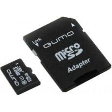 Карта памяти microSDXC Card128Gb QUMO Class10 + адаптер (QM128GMICSDXC10U1)