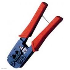 Клещи для обжима T-568R (RJ-45,RJ-11,RJ-12) с фиксатором (LY-T568R)