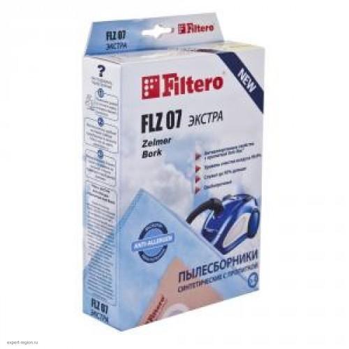 Пылесборник Filtero FLZ 07 Экстра синтетические