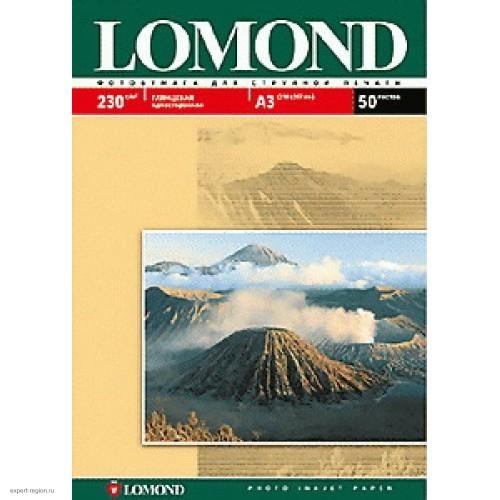 Бумага Lomond для струйной печати А3, 230 г/м2, 50 листов, глянцевая (0102025)