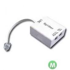 Сплиттер ADSL D-Link DSL-30CF/RS (1xRJ11 input and 2xRJ-11 output ports ) with 10cm phone cable