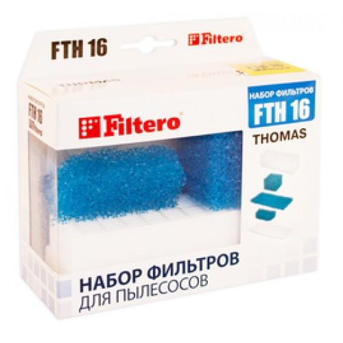 Фильтр для пылесоса FILTERO FTH 16 HEPA