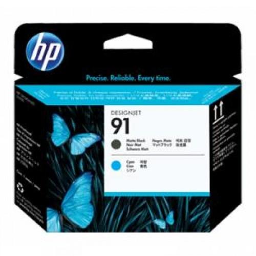 Головка C9460A (№91) HP DesignJet Z6100 Matte Black/Cyan