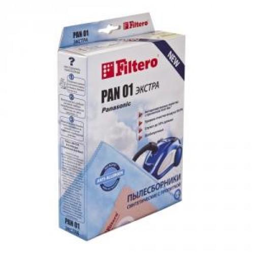 Пылесборник Filtero PAN 01 (4) Экстра
