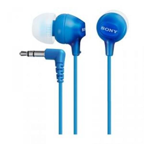 Наушники Sony MDR-EX15LPLI синие