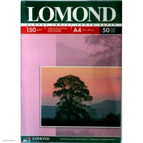 Бумага Lomond для струйной печати А4, 150 г/м2, 50 листов, глянцевая (0102018)